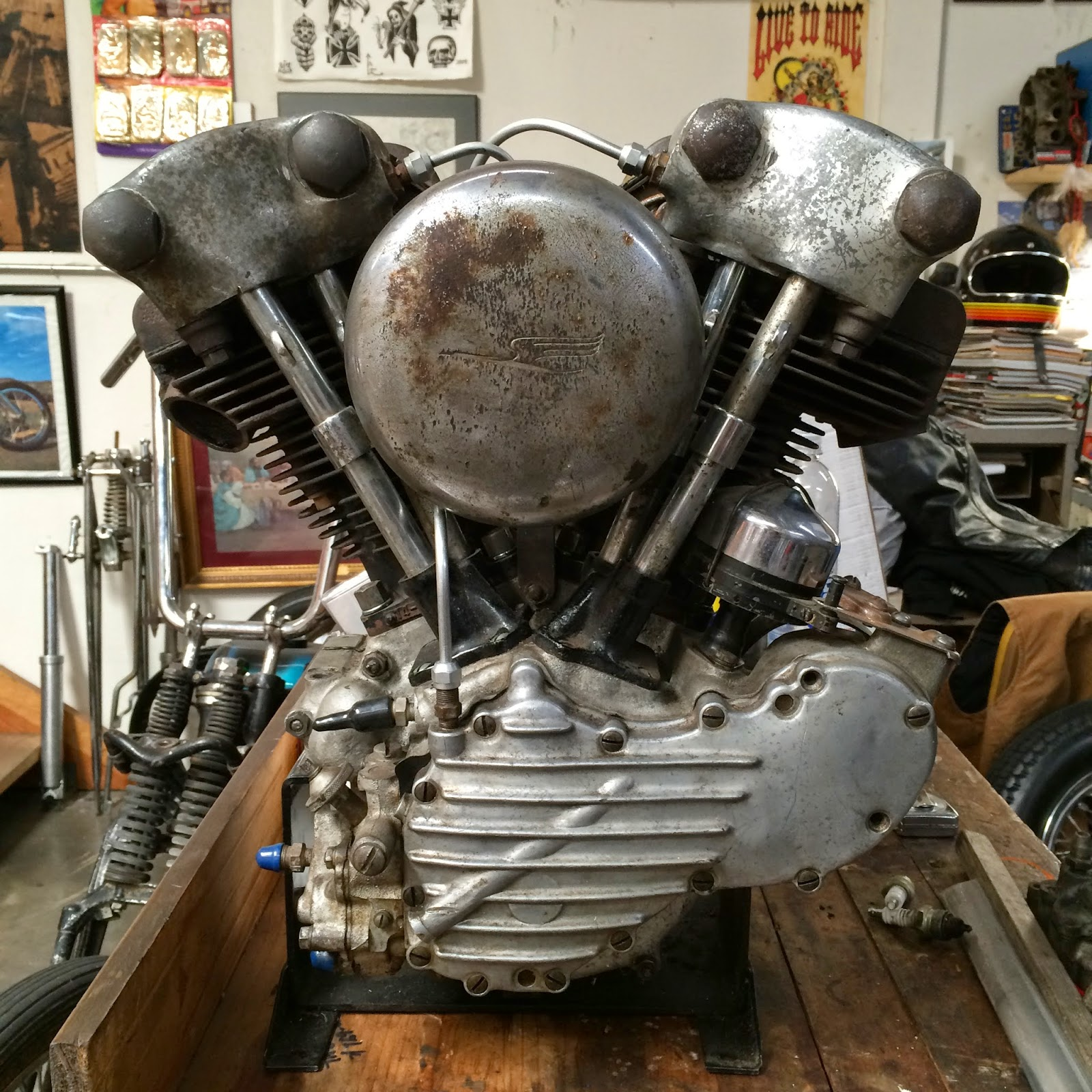 41 Knucklehead Motor For Sale