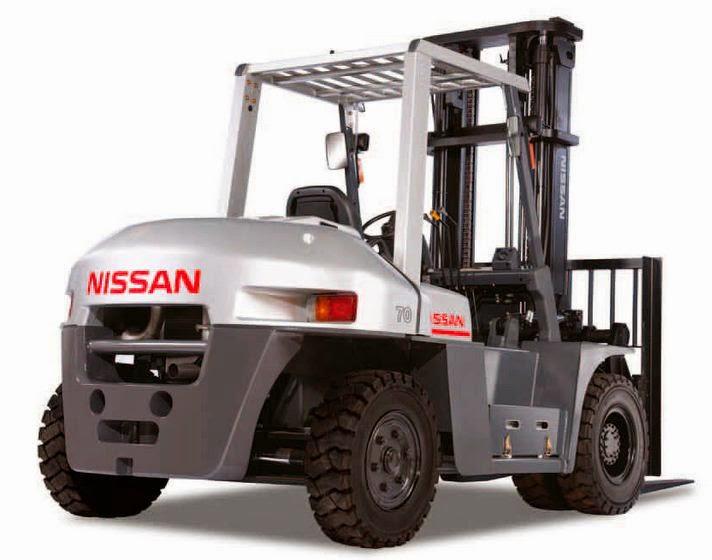 Nissan Forklift ini penuh dengan nuansa warna elegan