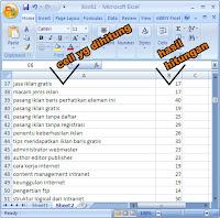 Menghitung Jumlah Huruf, Formula Excel, Fungsi Excel, Rumus Excel