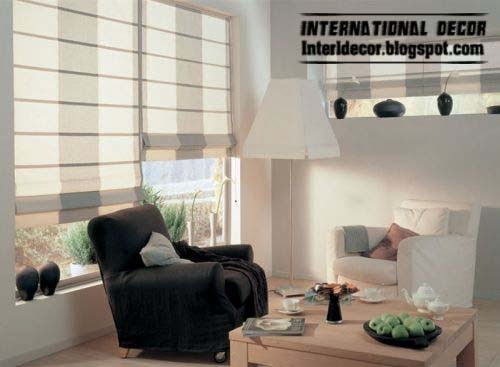 roman shades 2015 fashion types of curtains for window coverings 2015 - Types Of Curtains For Windows