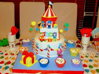 Pocoyo Cakes for Children Parties