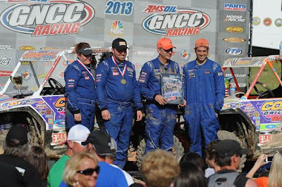 Mountaineer GNCC Podium