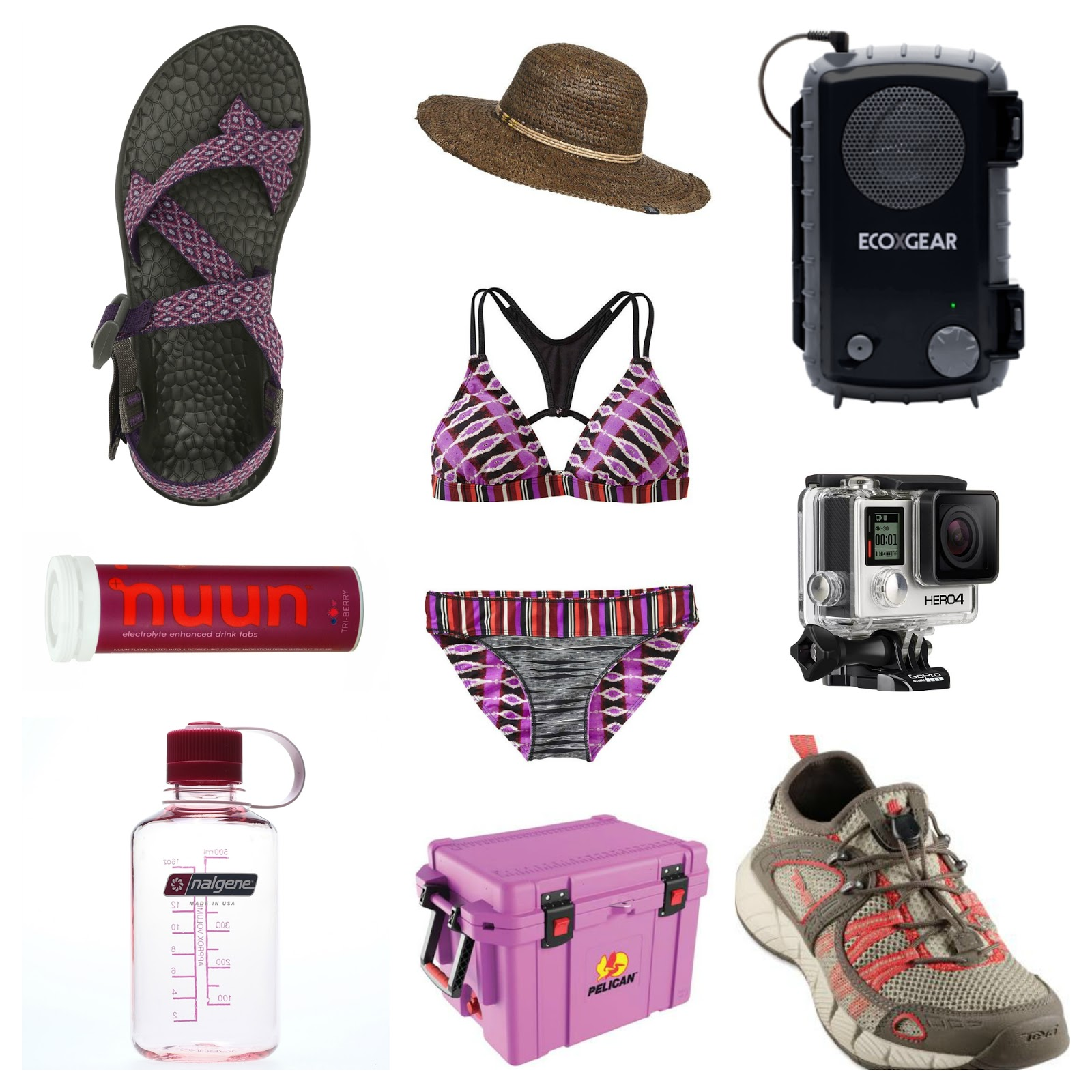 river rafting gear