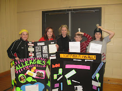Grade 6-8 Winners of Science Fair