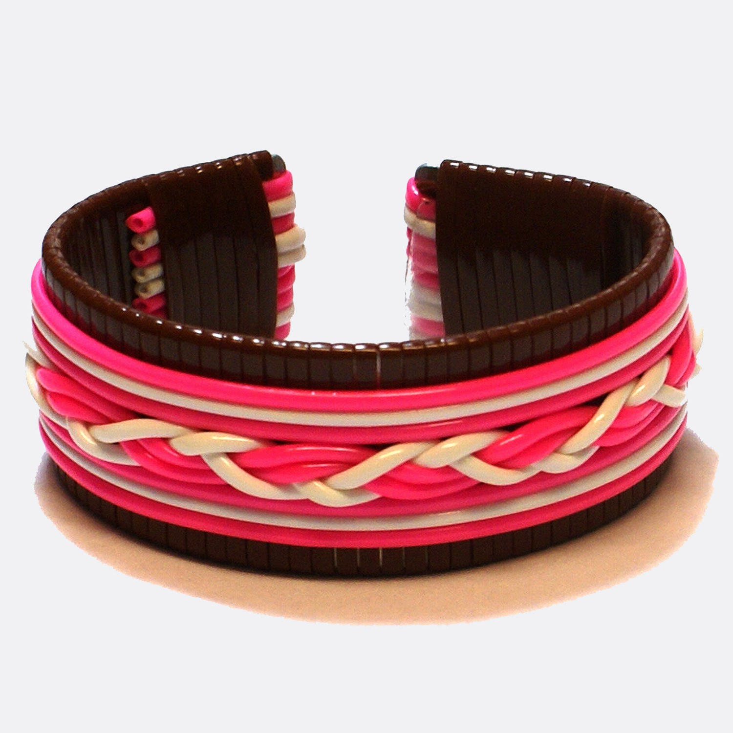 Wrapped bracelet by Joel Hooks - Pepperell Braiding Company