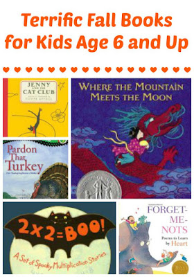 Fall book recommendations for ages 6 and up