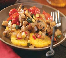 Weight Loss Recipes : Ratatouille with Polenta