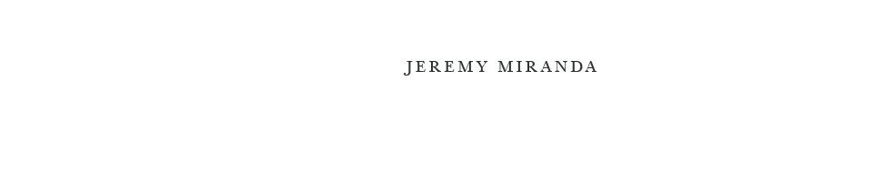 Jeremy Miranda