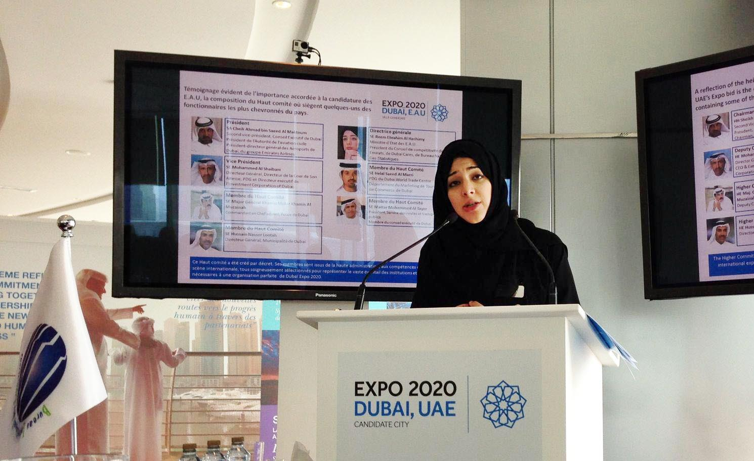 Expo 2020 Dubai, UAE: BIE Enquiry Mission to Dubai !