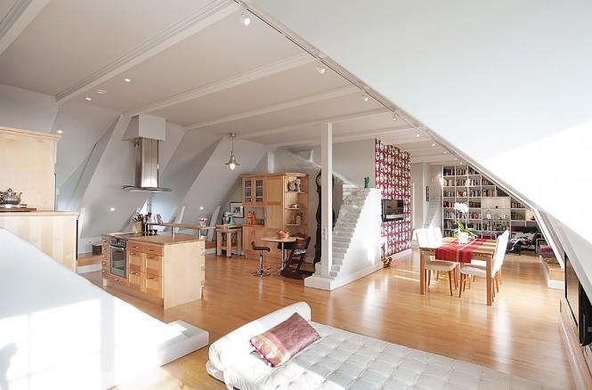 Http R210 Blogspot Com 2012 03 Interior Design Attic With Steep Roof Html