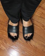Celine Inspired Fur Lined Sandals Diy Under 10 Soccer