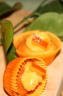Cupcakes de taronja