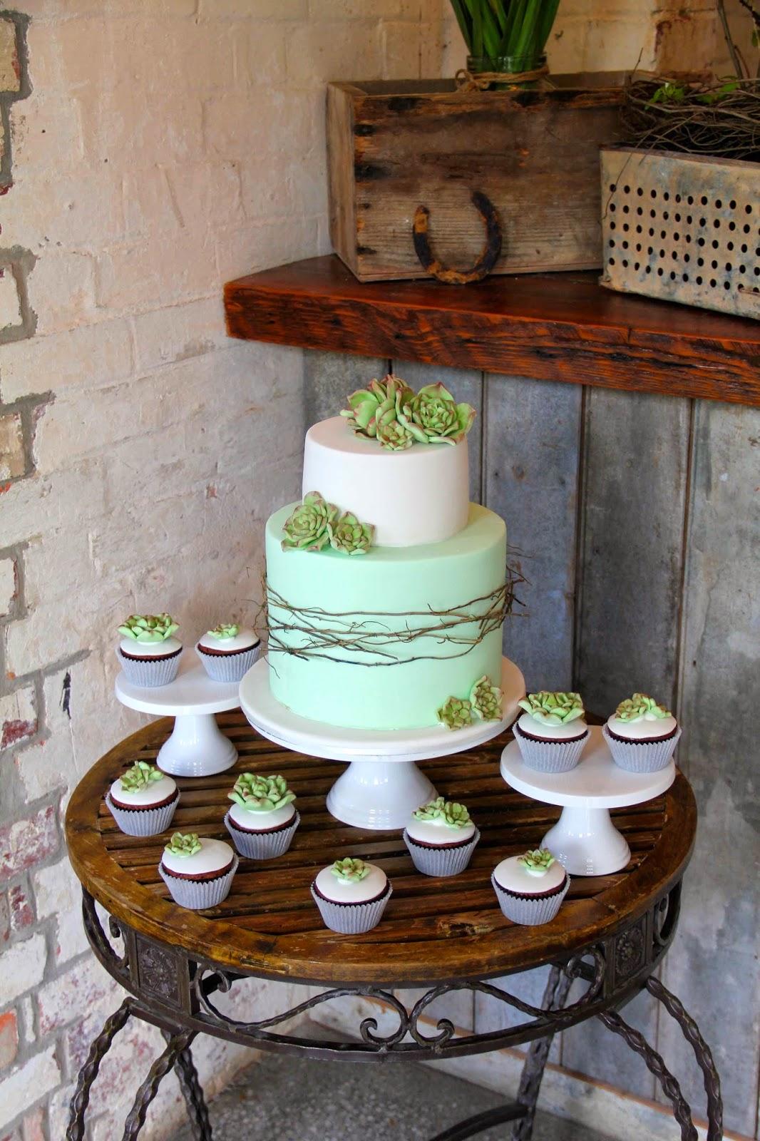 Bakerz Dad Rustic Wedding Cake