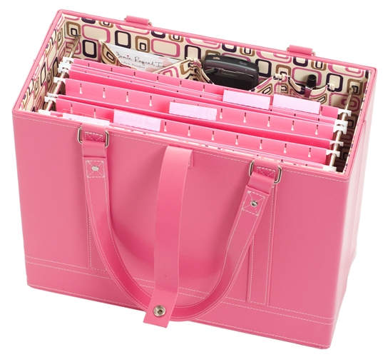 Office Candy Pink File Tote Giveaway