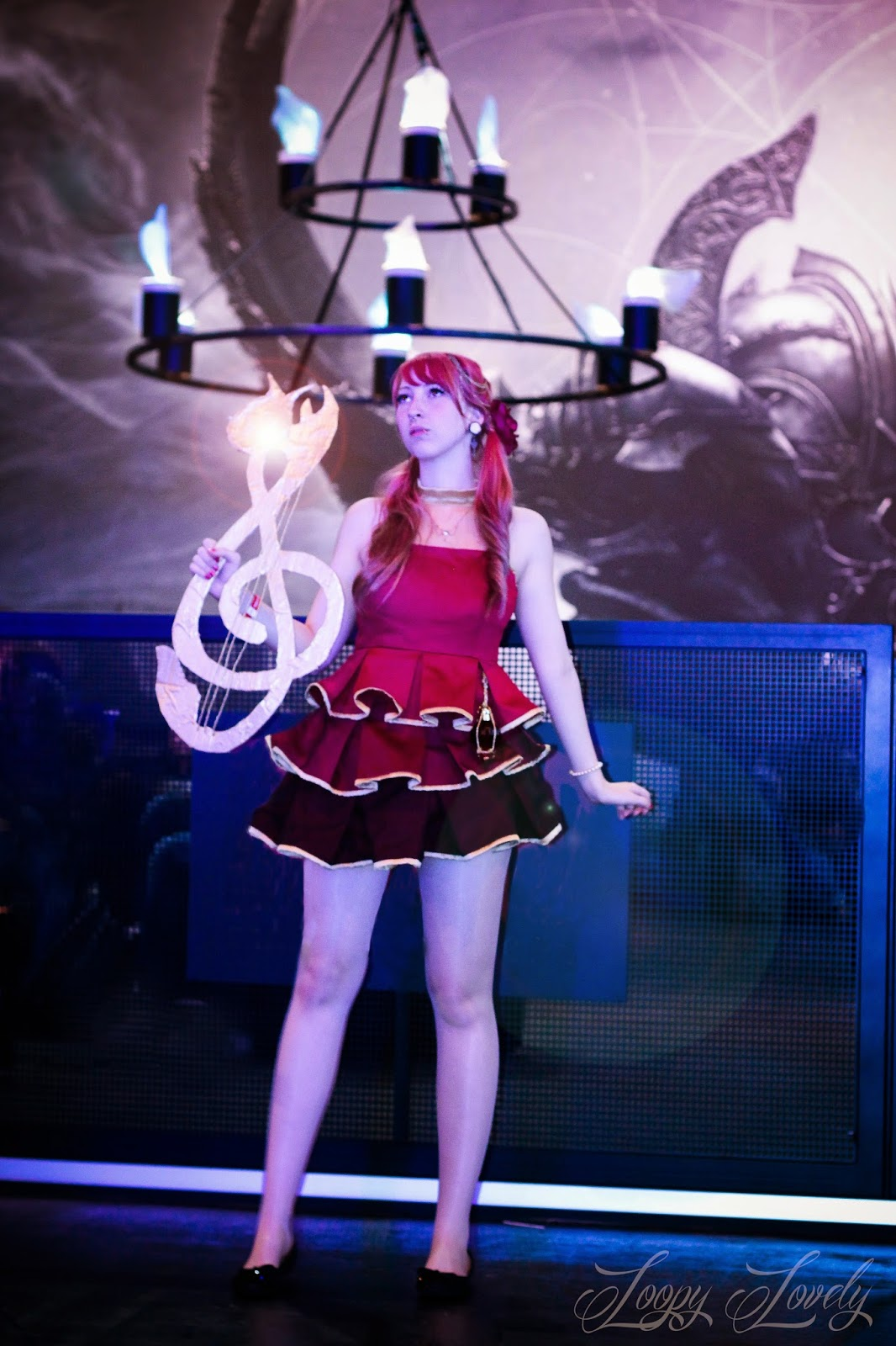 Aion Cosplay loopy lovely: songweaver aion cosplay