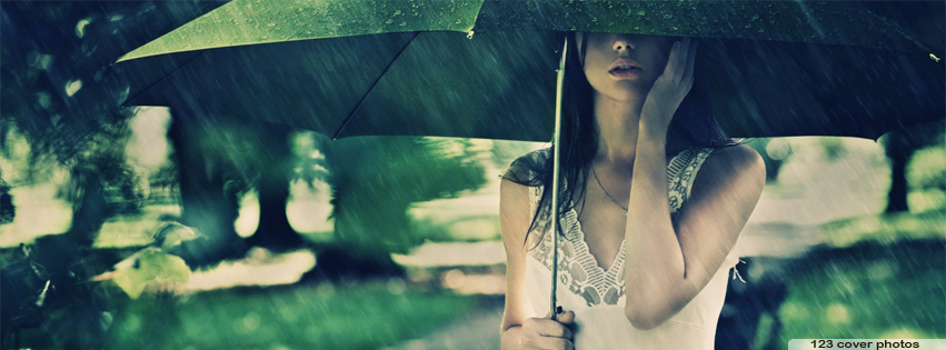 Lonely Girl In Rain Pics For Facebook Rain Facebook Cover Ph...