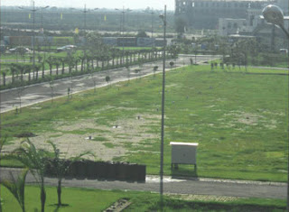Up Country, Yamuna Expressway :: Construction Status on March 2014