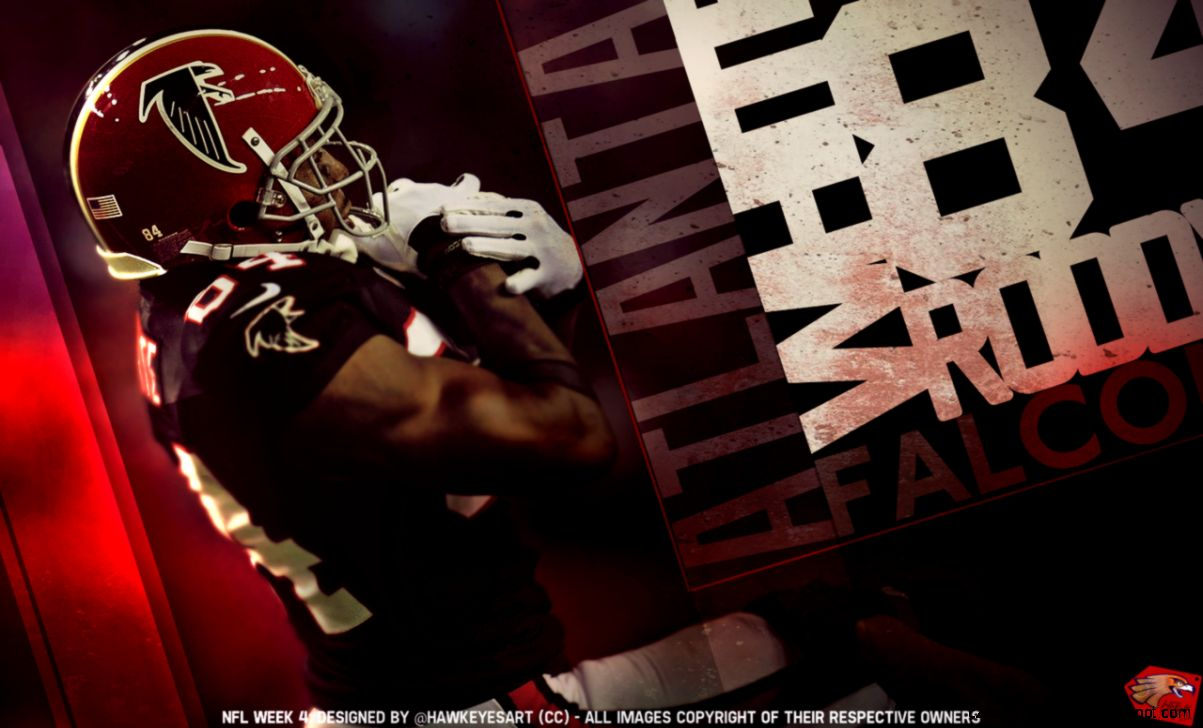 Roddy White   NFL 2012 by TheHawkeyeStudio on DeviantArt