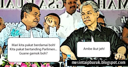 PRU-13: Ahmad Said, Idris Jusoh (pasti) ke Parlimen?