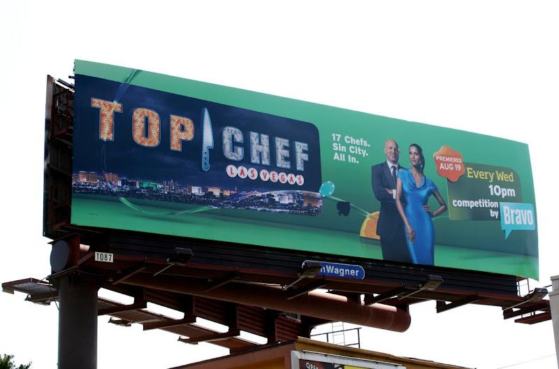 Top Chef Las Vegas season 6 billboard