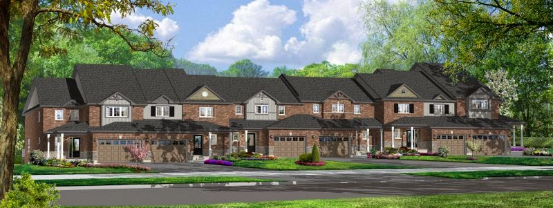 Executive Townhome Collection by Parkview Homes
