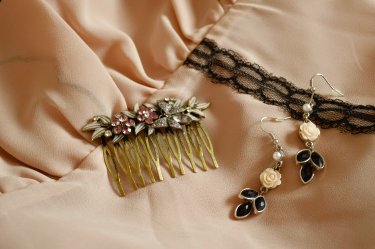 jewellry, outfit, cherry blossom, nude, pink