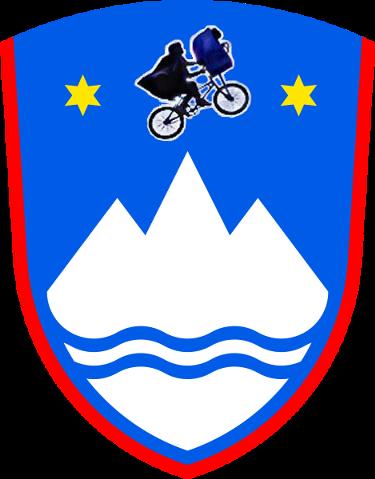 Vélo qui plane  Escudo_ET-en+eslovenia