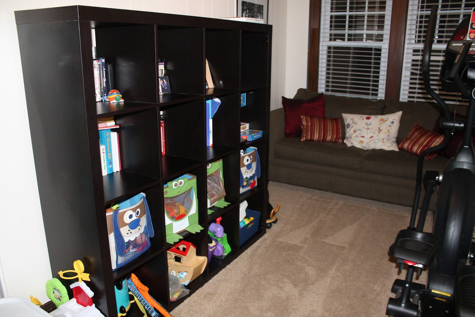 Organization Week Continues Controlling Toy Chaos