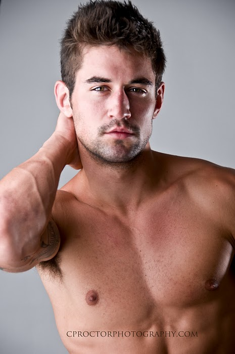 Picture about male model benjamin godfre captured by carl proctor