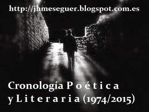 Cronología Poética y Literaria (1974/2015)