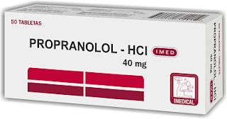 obat hipertensi Propranolol
