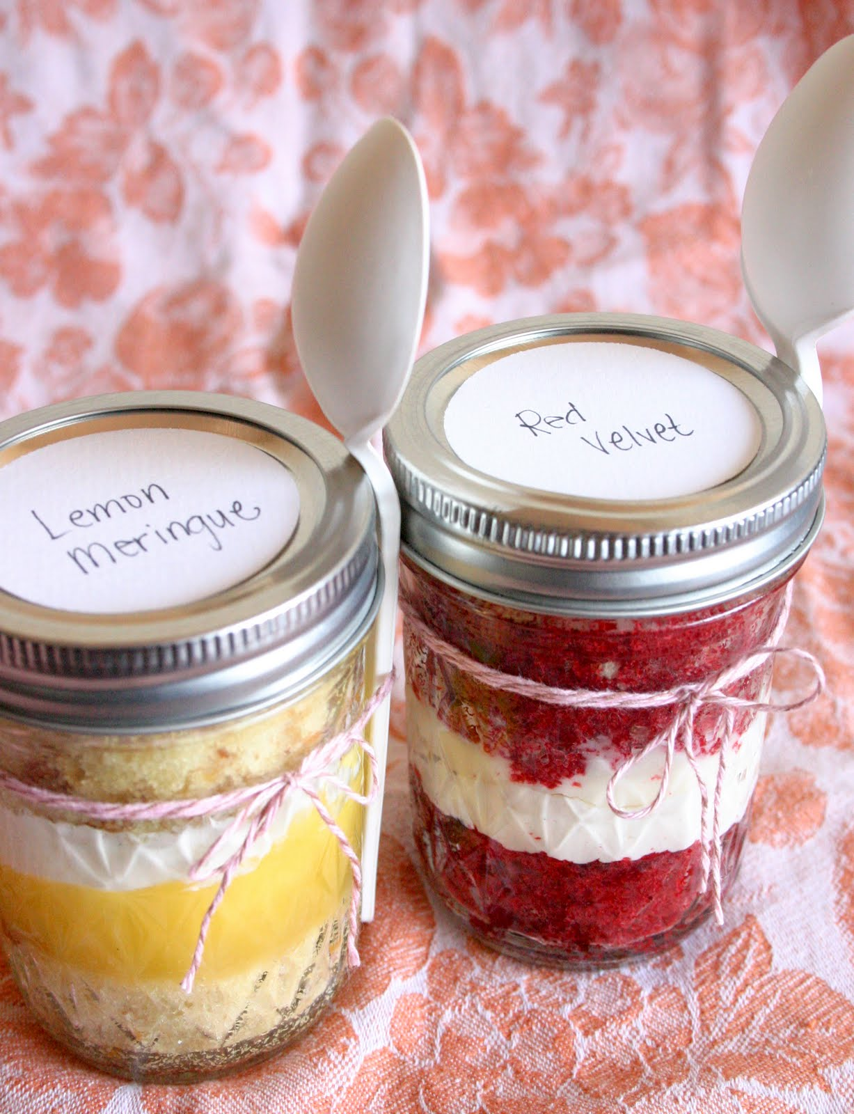Red Velvet Cupcakes In A Jar Recipes — Dishmaps