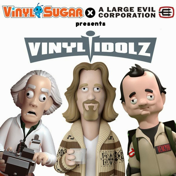 "Coming Soon: ""Vinyl Idolz"" Pop Culture Figures by Vinyl Sugar (Funko x A Large Evil Corporation)"