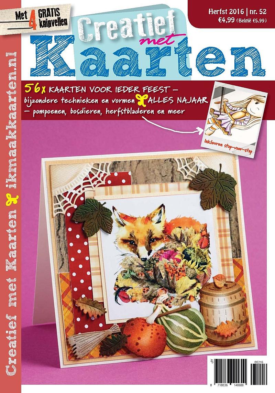 Creatief met Kaarten 52 (August 2016)