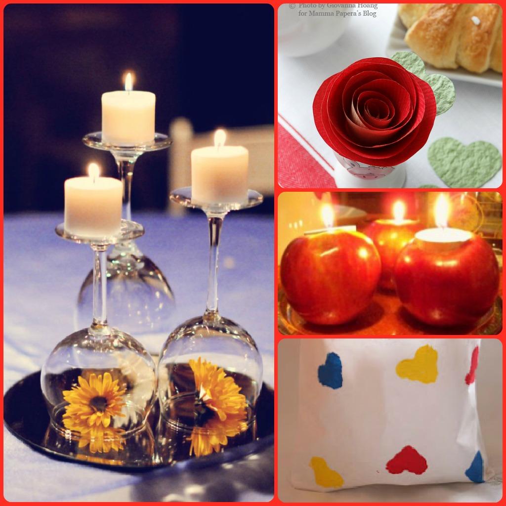 Quattro idee per apparecchiare la tavola il giorno di s valentino - Idee tavola san valentino ...