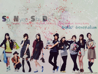 wallpaper Girls Generation 2012