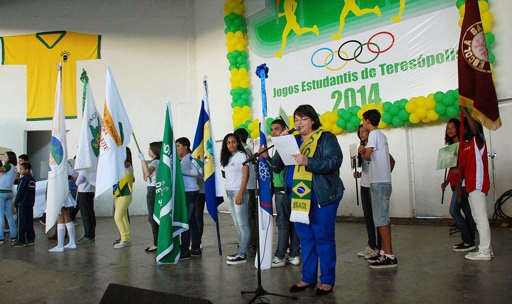 Começaram os Jogos Estudantis Municipais de 2014