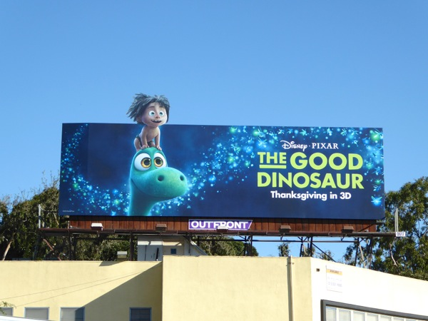 The Good Dinosaur movie billboard