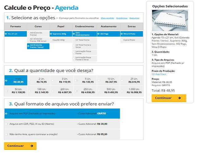 Agenda personalizada PApira