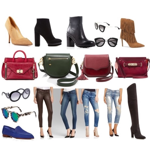 Bloomindales friends and family sale, fall boots, jeans, bag, dvf secret agent bag, on sale, deal, fall sale, fashion blog