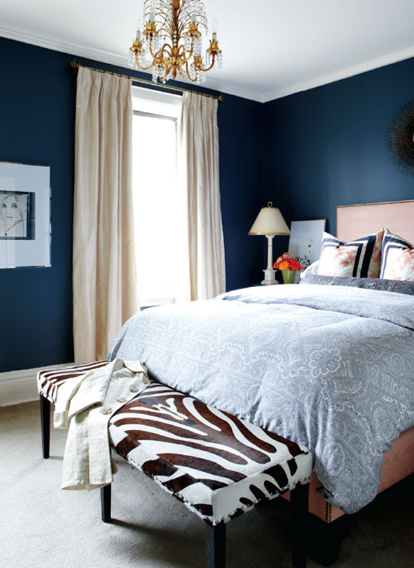 Camera Da Letto Blu Notte – Casamia Idea di immagine