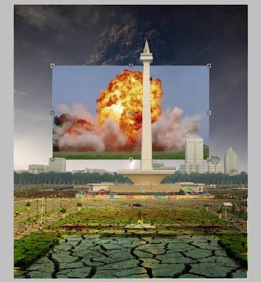 Membuat Efek Ledakan Api pada Photoshop
