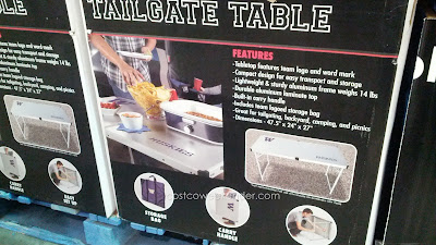 Show your school pride with the Washington Huskies Tailgate Table