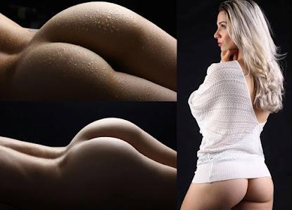 """""""O bumbum é a parte que mais gosto em meu corpo como também a mais elogiada pelos fãs"""" diz modelo"""