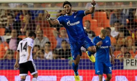 Valencia 2 x 3 Zenit - Grupo H / Champions League 2015/16