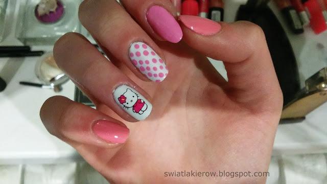 Hej kotku!-naklejki Hello Kitty