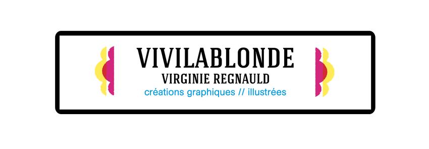 le blog de vivilablonde - créations graphiques et illustrées