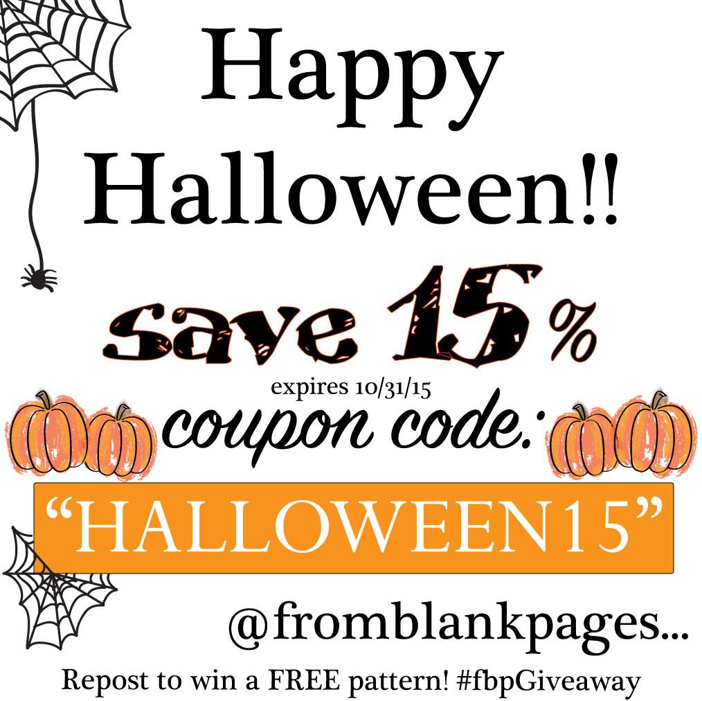 Halloween coupon