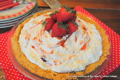 Strawberry Limeade Pie