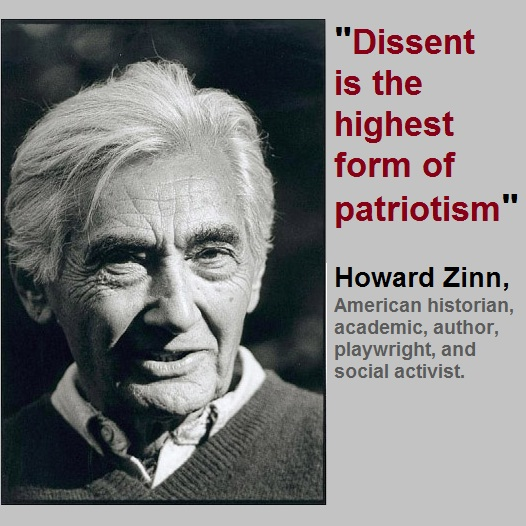 tyranny is tyranny howard zinn The birth of american democracy: tyranny is tyranny submitted by icconline on february 12 9 quoted in howard zinn, a people's history of the united states.